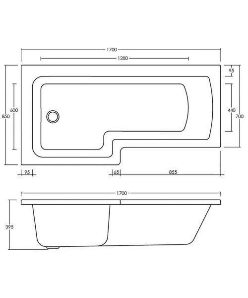 Technical drawing 20156 / BMBS1785L