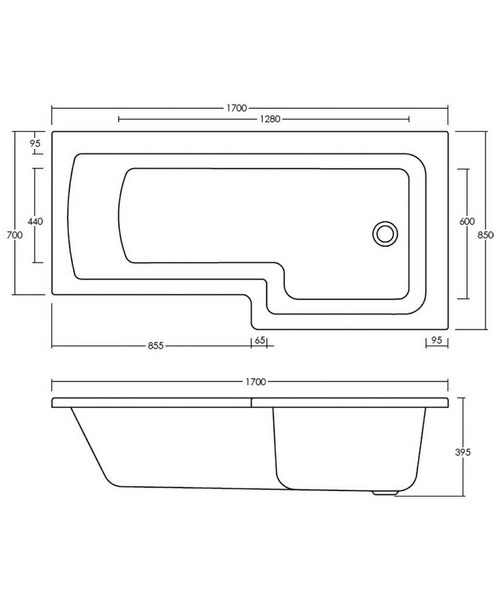 Technical drawing 20157 / BMBS1785R