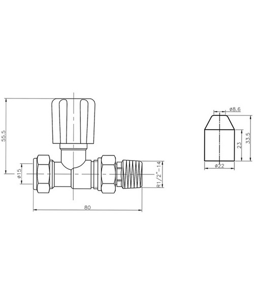 Technical drawing 20200 / RV004
