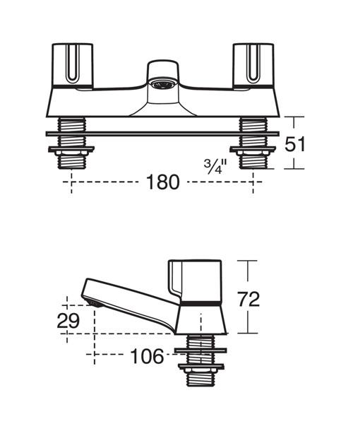 Technical drawing 20429 / B9674AA