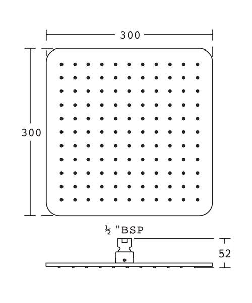 Technical drawing 20551 / B0025AA