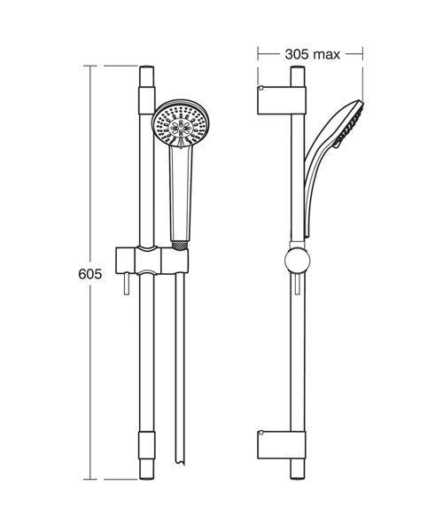 Technical drawing 20553 / B9830AA