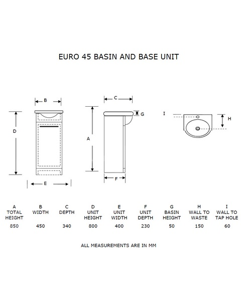 Technical drawing 21173 / EURO45MA