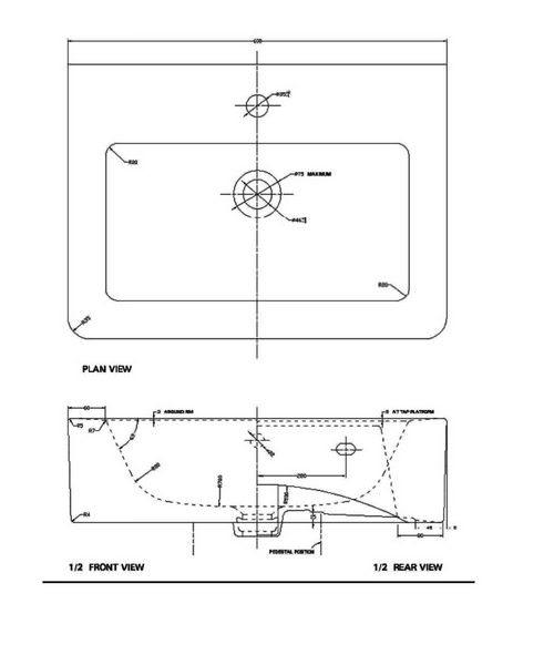 Technical drawing 21181 / QU004