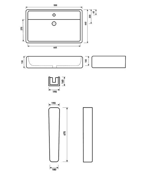 Technical drawing 21206 / MQ050