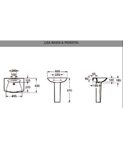 Technical drawing 21220 / LA004
