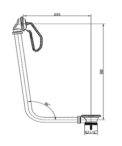 Technical drawing 21269 / WA006