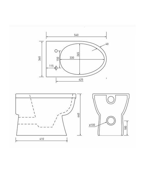Technical drawing 21332 / EM045