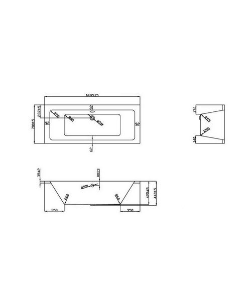 Technical drawing 21363 / BH053