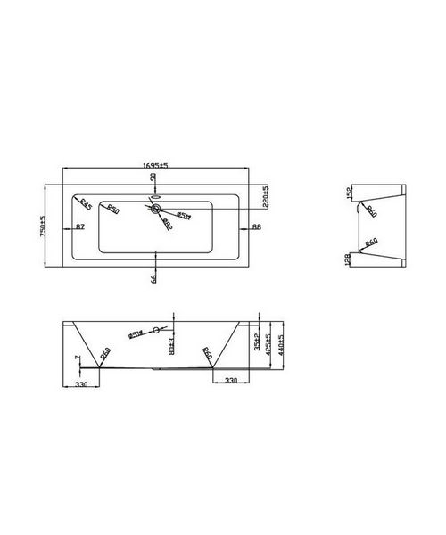 Technical drawing 21367 / BH054