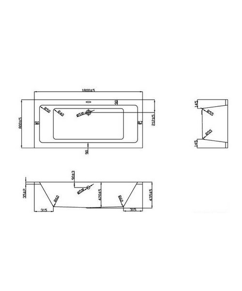 Technical drawing 21373 / BH052C