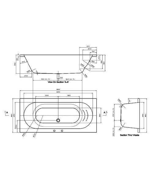 Technical drawing 21416 / FLOBT303S3