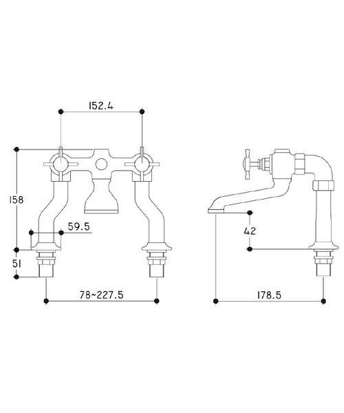Technical drawing 21587 / TDCG072