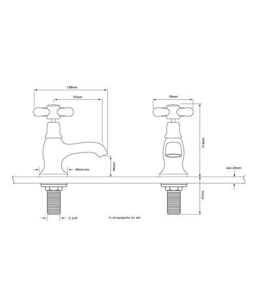 Technical drawing 21617 / TRHG01