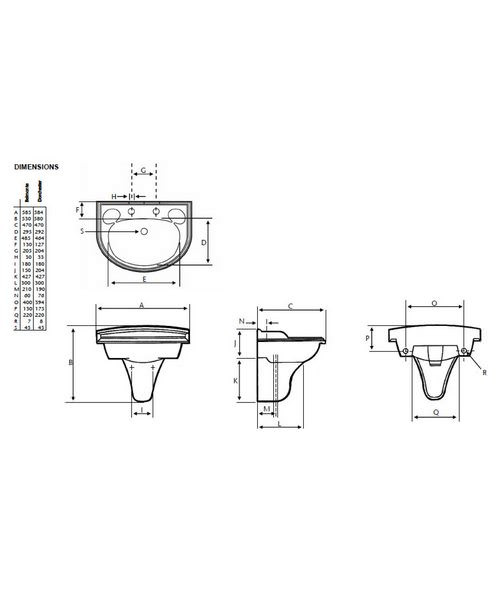 Technical drawing 21625 / PBW06