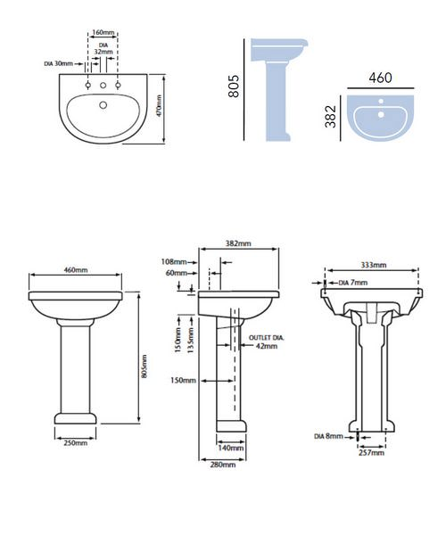 Technical drawing 21626 / PBW07