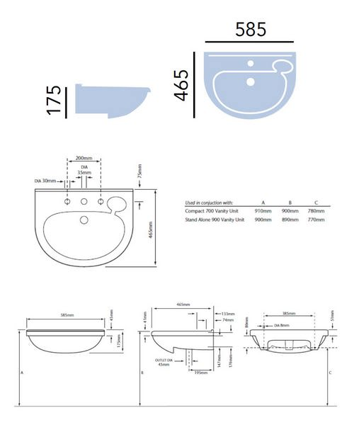 Technical drawing 21627 / PBW36