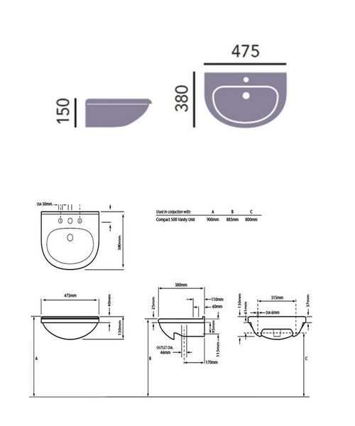 Technical drawing 21628 / PBW372