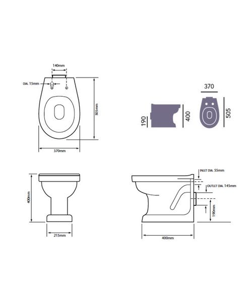 Technical drawing 21640 / PBWF00