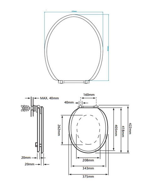 Technical drawing 21643 / HWG101