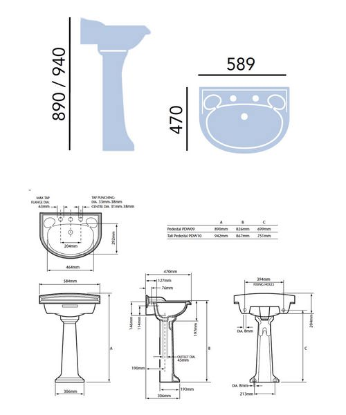 Technical drawing 21664 / PDW061