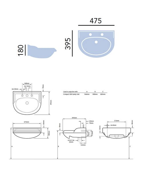 Technical drawing 21668 / PDW372