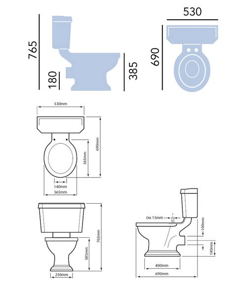 Technical drawing 21698 / PGRW00
