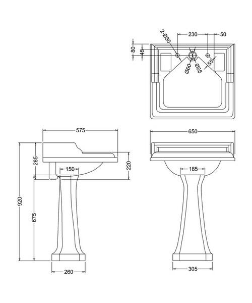 Technical drawing 2171 / B14