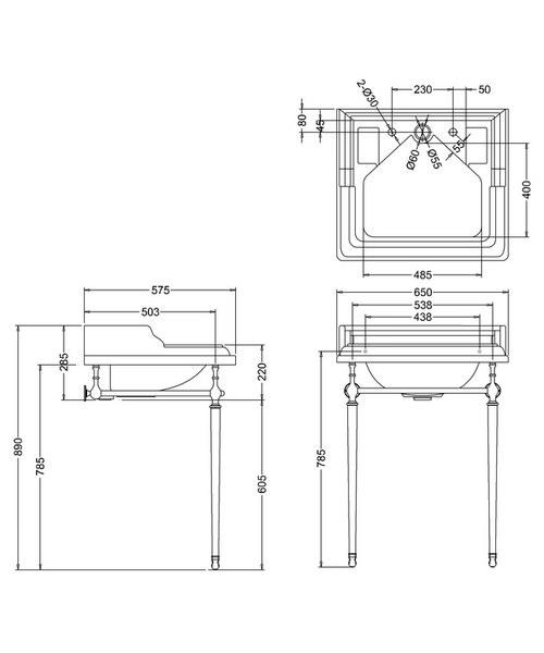 Technical drawing 2175 / B14