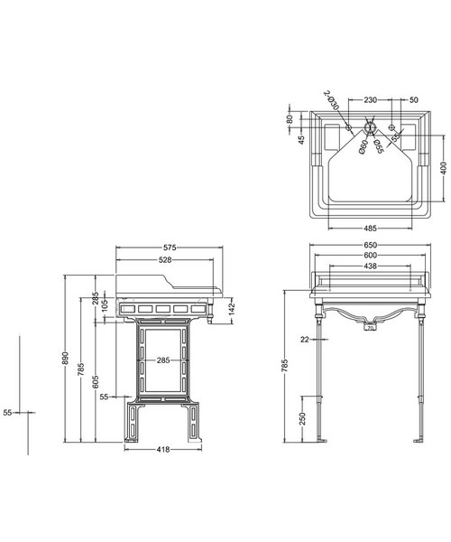 Technical drawing 2177 / B14
