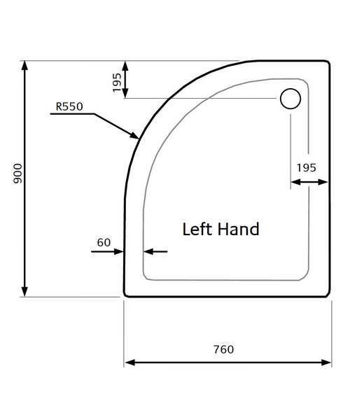 Technical drawing 21832 / ZZTQ9076L