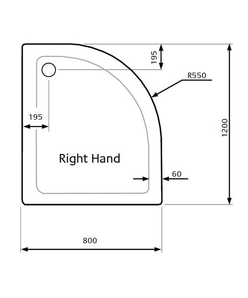 Technical drawing 21839 / ZZTQ8012R