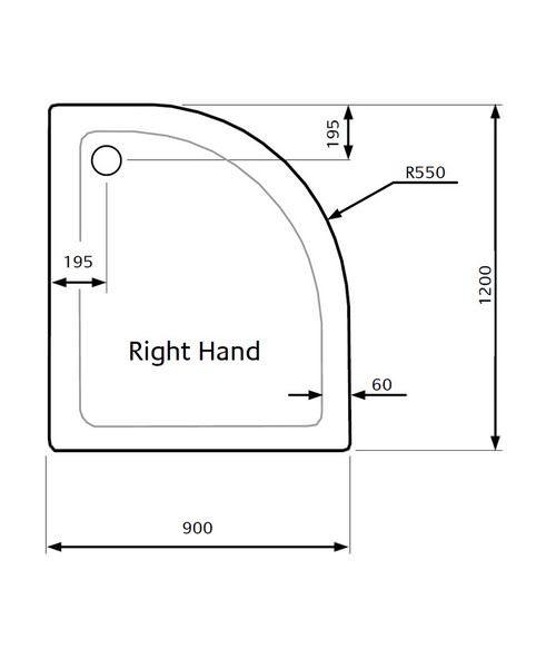 Technical drawing 21841 / ZZTQ9012R