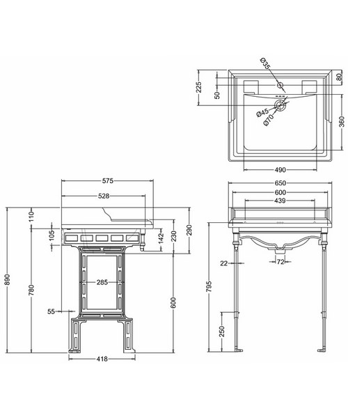 Technical drawing 2188 / B15