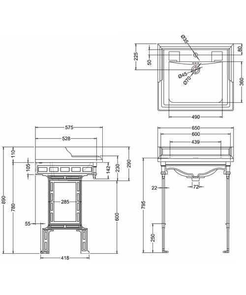 Technical drawing 2189 / B15