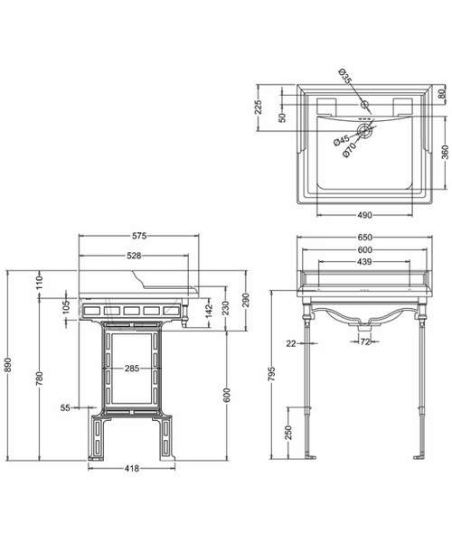 Technical drawing 2190 / B15