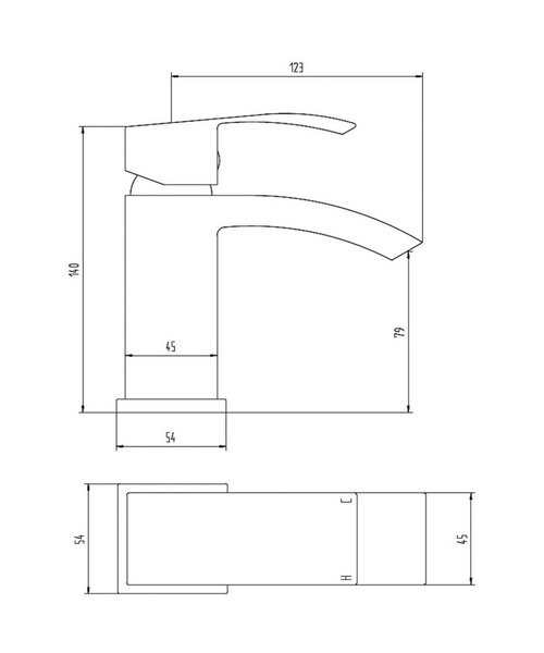 Technical drawing 21929 / TSI305