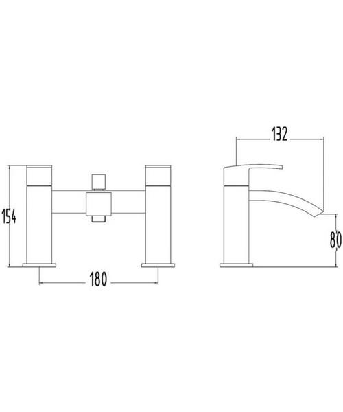 Technical drawing 21932 / TSI304