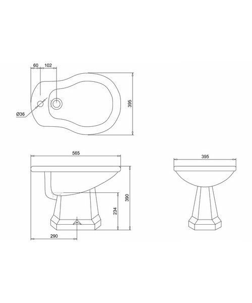 Technical drawing 2196 / P4