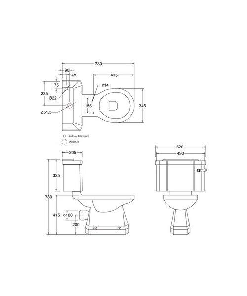 Technical drawing 2199 / P5