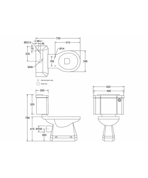 Technical drawing 2200 / P5