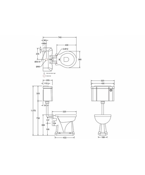 Technical drawing 2204 / P2