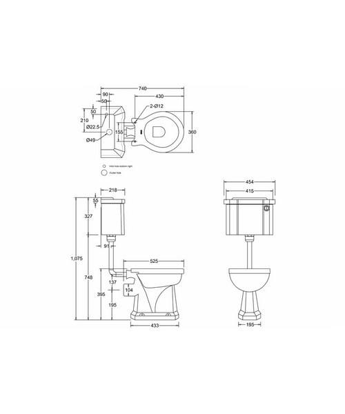 Technical drawing 2206 / P2