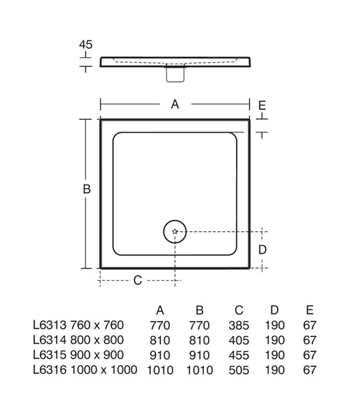 Technical drawing 22070 / L631301