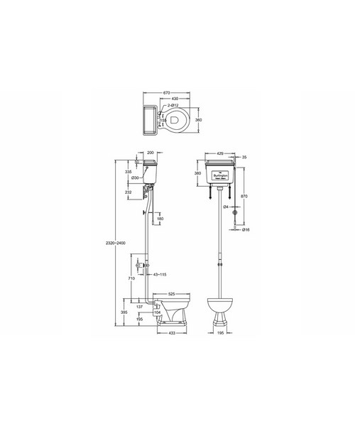 Technical drawing 2210 / T60 BLA