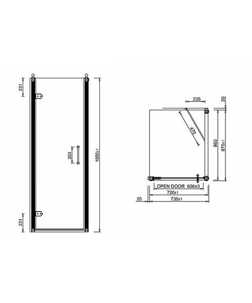 Technical drawing 2221 / BU12