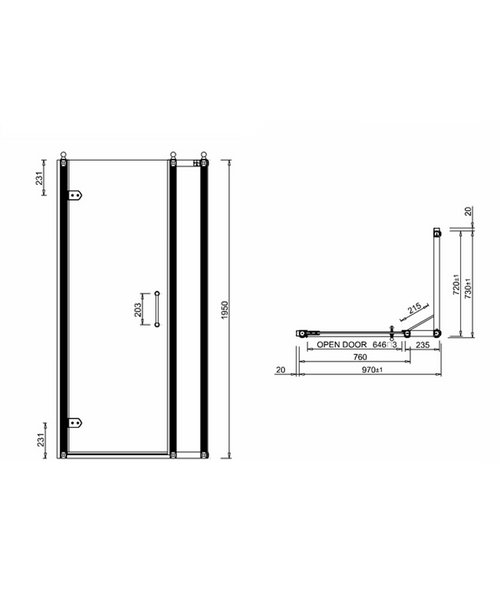 Technical drawing 2228 / BU19