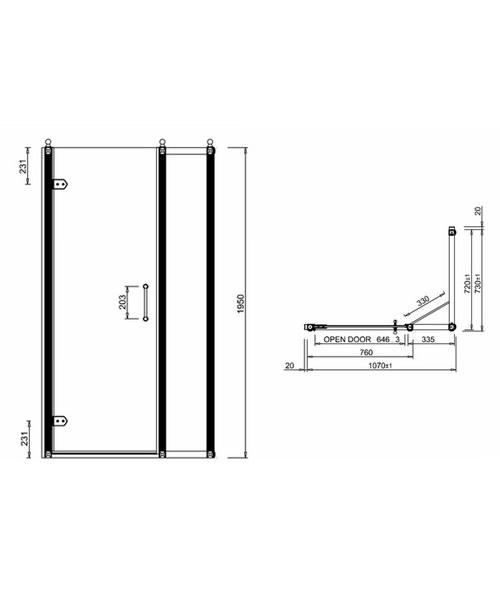 Technical drawing 2232 / BU23