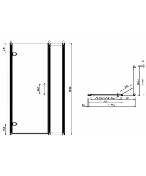 Technical drawing 2236 / BU27