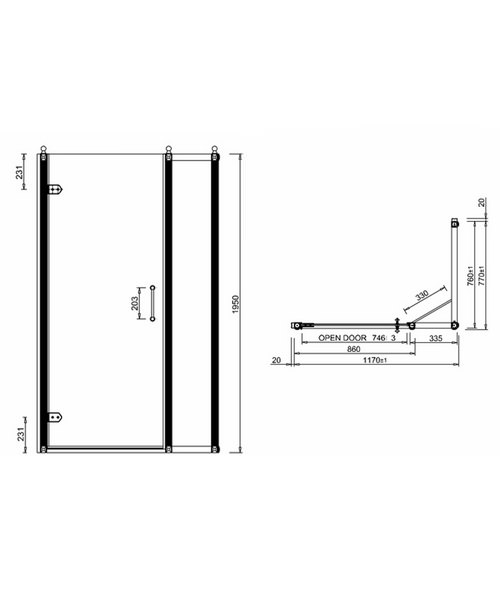 Technical drawing 2237 / BU28